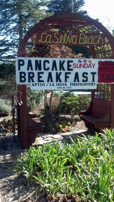 Terri Woods La Selva Beach Pancake Breakfast