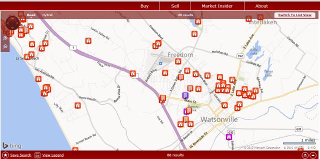 Watsonville maps