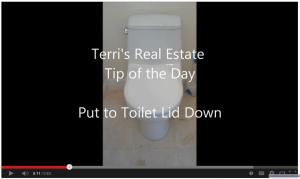 Toilet Lid Down