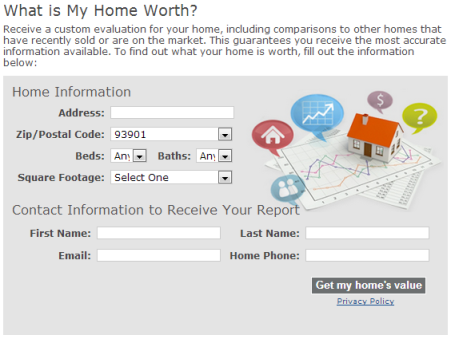 What is my home worth graphic
